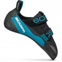 Scarpa Boostic Rock Climbing Shoe - Black/Azure