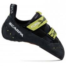 Scarpa Furia Climbing Shoe - Black/Lime