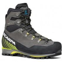 Scarpa Manta Tech GTX Mountaineering Boot - Men's - Shark/Lime