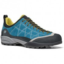 Scarpa Zen Pro Approach Shoe - Men's - Lake Blue/Mustard