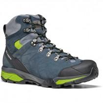 Scarpa ZG Trek GTX Men's Walking Boot - Teal Grey/Spring