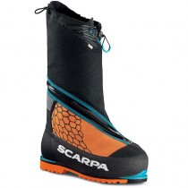 Scarpa Phantom 8000 Mountaineering Boot - Black/Orange