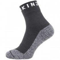 Sealskinz Soft Touch Waterproof Ankle Socks - Black/Grey/Whte