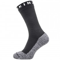 Sealskinz Soft Touch Waterproof Ankle Socks - Black/Grey/White