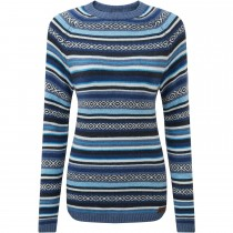 Sherpa Paro Crew Sweater - Women's - Neelo Blue