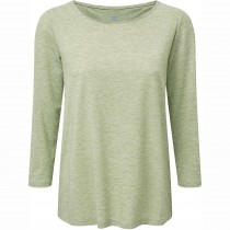 SHERPA - Asha Women's ¾ Knit Top - Gokarna Green