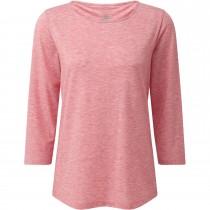 Sherpa Asha 3/4 Sleeve Top - Golbera Pink