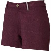 Sherpa Jatra Women's Shorts - Ani Burgundy