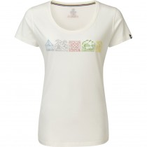 Sherpa Adventure Gear Lungta Short Sleeve Women's Tee - Katha White