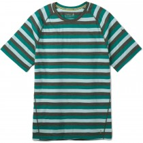 Smartwool Merino 150 Baselayer Short Sleeve - Mens - Pacific Stripe