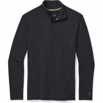 Smartwool Merino 250 Baselayer 1/4 Zip - Charcoal Heather