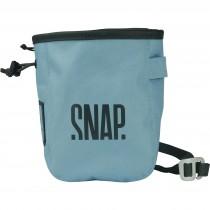 Snap Chalk Pocket Zip Chalkbag - Steel Blue