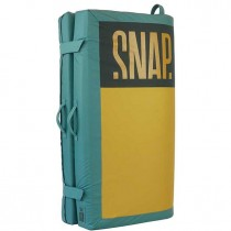 Snap Stamina Bouldering Mat - Curry/Green