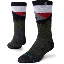 Stance Divide St Outdoor Crew Socks - Green