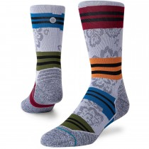 Stance Flora Crew Running Socks - Men's - Grey