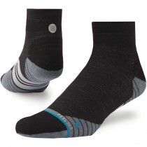 Stance Uncommon Solid Wool QTR Run Socks - Men's