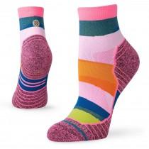 Stance Mix It Up Quarter Running Sock - Women's - Pink