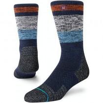 Stance North Rim Crew Socks - Burnt Orange
