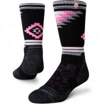 Stance Ruby Valley Crew Hiking Socks - Black