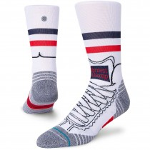 Stance Run Forrest Run Sock - White