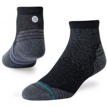 Stance Run QTR Running Socks - Black