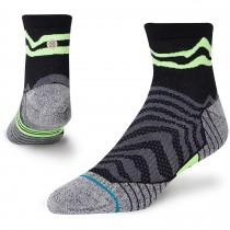 Stance Serrano Quarter Running Sock - Black