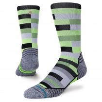Stance Slats Crew Socks - Neon Green