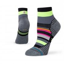 Stance Tiled QTR Socks - Black