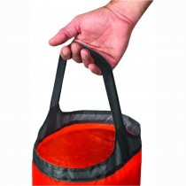 Ultra-Sil Folding Bucket 10 Litre Orange/Black