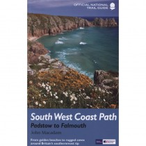 South West Coast Path: Padstow to Falmouth: Official National Trail Guide 9 by Aurum Press