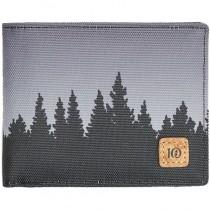 tentree Baron Bi-Fold Wallet - Meteorite Black Juniper