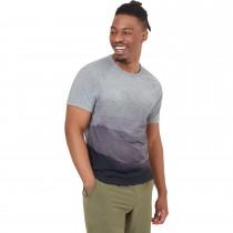 Tentree Destination Short Sleeve T-Shirt - Men's - Grey Mountain/Grey Heather