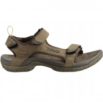 Teva Tanza Leather Men's Sandal - Brown