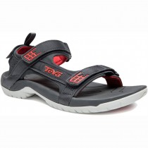 Teva Tanza Sandal - Dark Shadow/Red