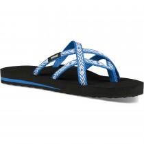 TEVA - Olowahu Women's Flip Flop Sandal - Himalaya Lapis Blue