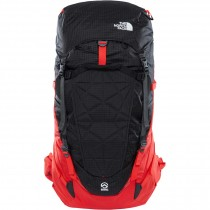 The North face Cobra 60 Rucksack - Fiery Red/TNF Black