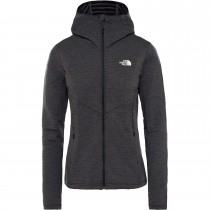 The North Face Women's Impendor Light Midlayer Hoodie - TNF Black Heather