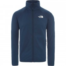 The North face Echo Rock Full Zip Jacket - Men's Fleece  - Blue Wing Teal