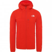 The North Face Nimble Hoodie - Men's Softshell - Fiery Red