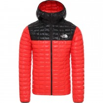 Thermoball Eco Hoodie - Men's - Fiery Red/TNF Black
