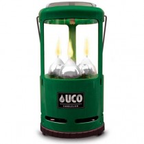 UCO 9 Hour 3 Candle Candlelier Lantern - Green