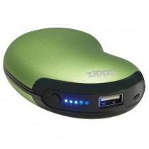 Zippo Heatbank 6 - Hour Rechargeable Hand Warmer & Power Bank - Green