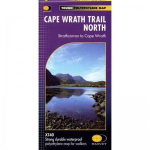 Cape Wrath Trail North: Strathcarron to Cape Wrath by Harvey