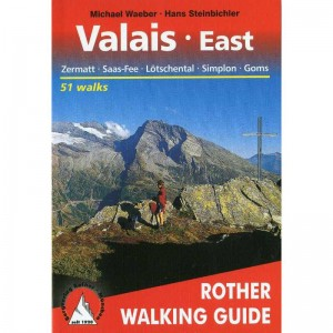 Valais East by Bergverlag Rother