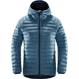 Haglofs Essens Mimic Hood Women's Jacket - Silver Blue/Dense Blue