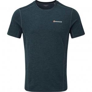 Montane Dart Men's T-shirt - Black - Orion Blue