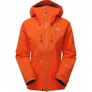 Mountain Equipment Tupilak GTX Jacket - Women's - Cardinal Orange