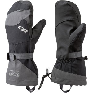 OUTDOOR RESEARCH - Meteor Mitts - Black/Charcoal