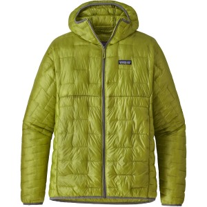 Patagonia Micro-Puff Hoody - Folios Green
