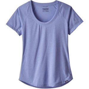 Patagonia Women's Cap Cool Trail Shirt - Light Violet